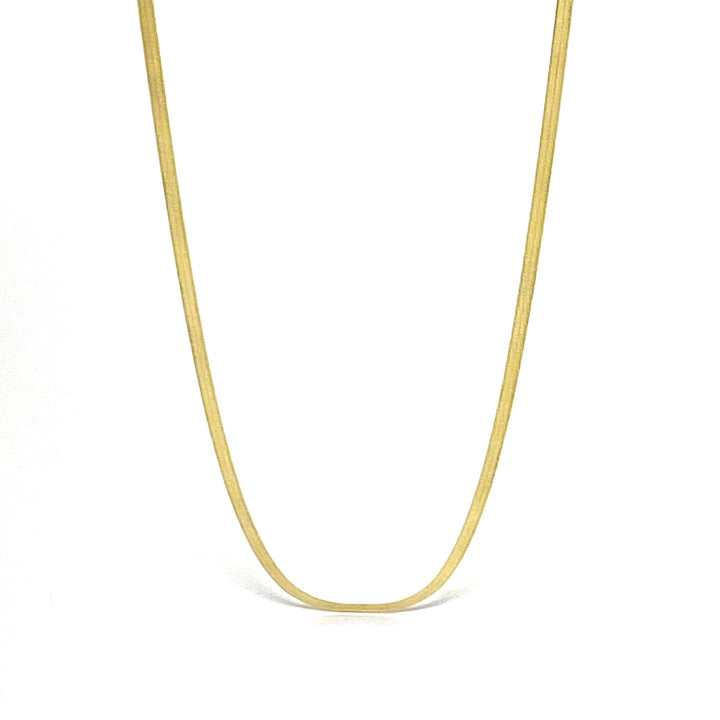 Herringbone Chain 2.5 mm - Shemoni Jewelry