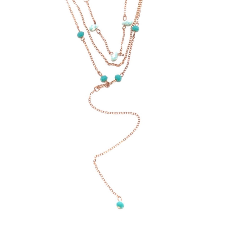 Wilshire Necklace - Shemoni Jewelry