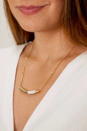 Lafayette Necklace - Stainless Steel