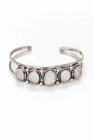 Marin Bangle - Sterling Silver