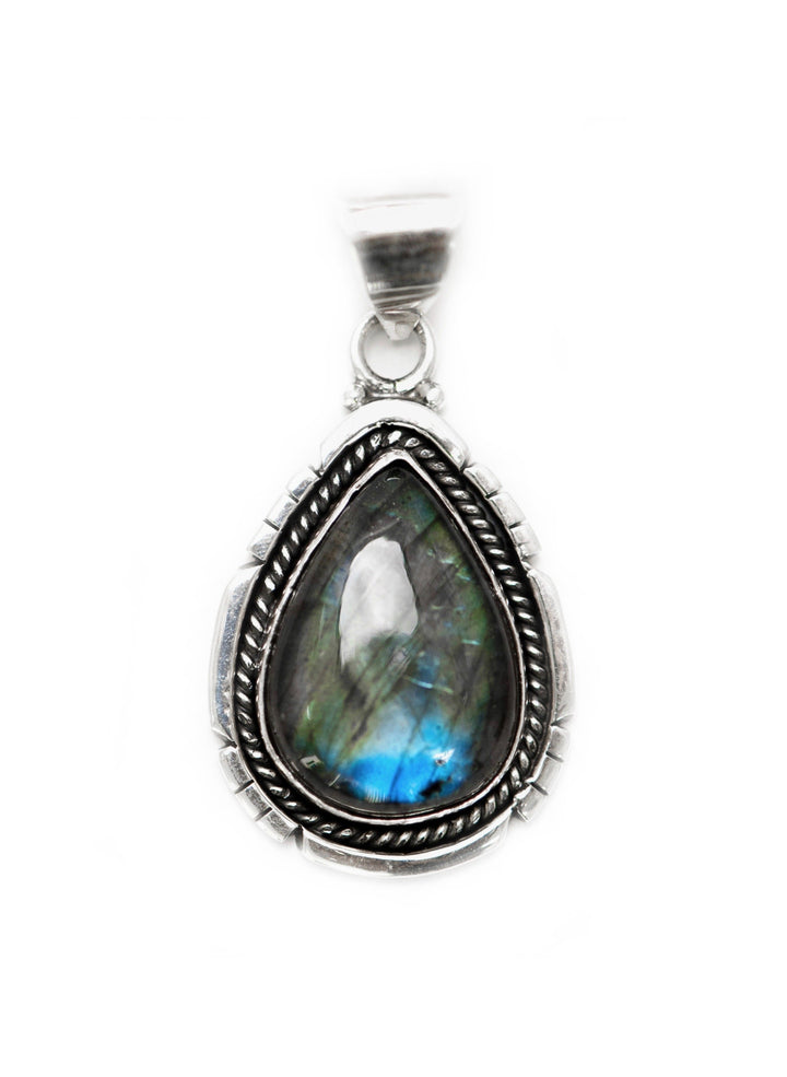 Oceanside Pendant - Sterling Silver