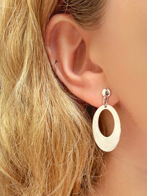 Oval Earrings - Shemoni Jewelry