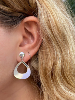 Reuleaux Earrings - Shemoni Jewelry
