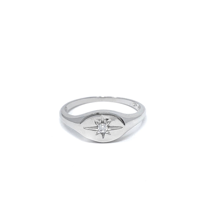Star Signet Ring - Shemoni Jewelry