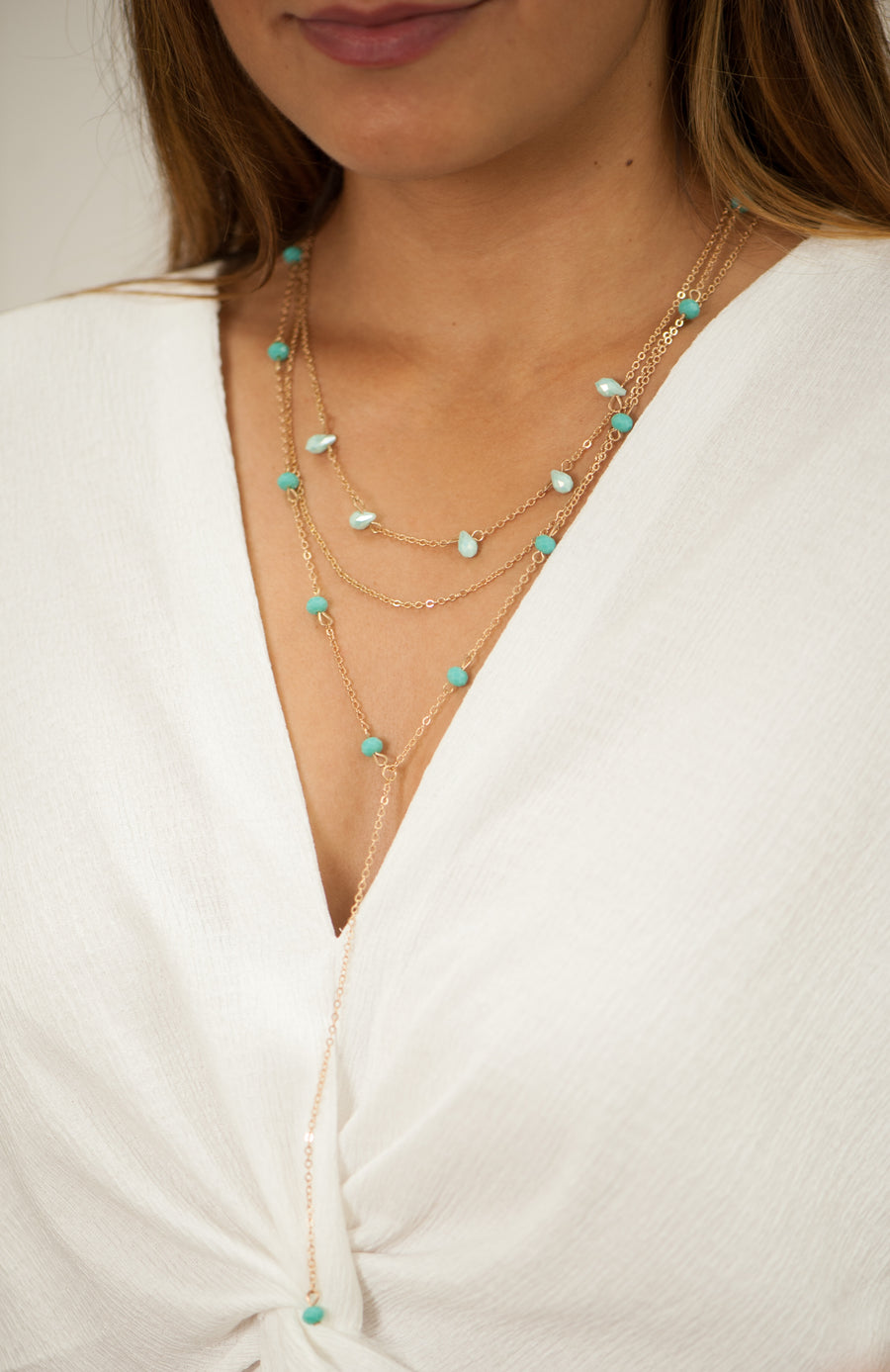 Wilshire Necklace - Shémoni Jewelry