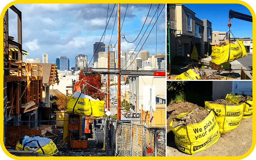 yellowsack-dumpster-bags-junk-removal-waste-construction-debris-affordable-service-san francisco-bay-area