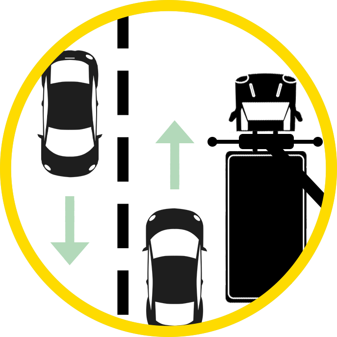 Allow other cars to pass