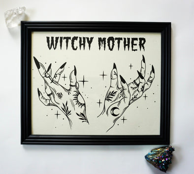 Witchy Mother - Art Print