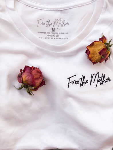 Free the Mother - Embroidered