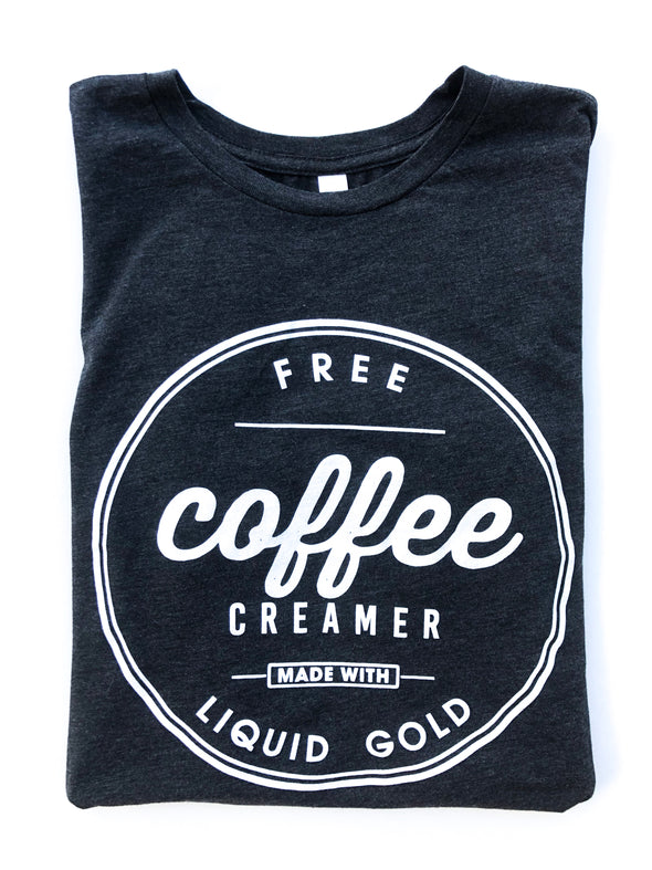 Free Coffee Creamer Made With Liquid Gold - Women's - Charcoal