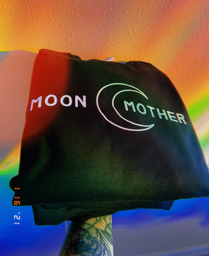 Moon Mother Sweatshirt - Black