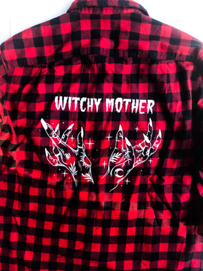 Witchy Mother - Flannel Shirt