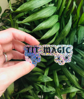 Tit Magic Sticker - Donate to Breast Cancer Research