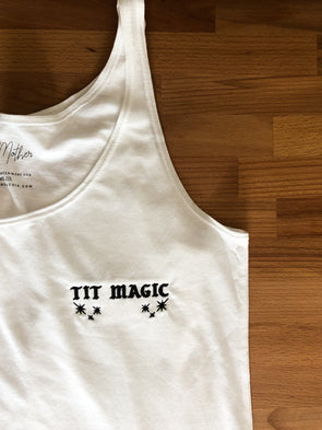 Tit Magic Tank - White