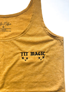 Tit Magic Tank - Mustard