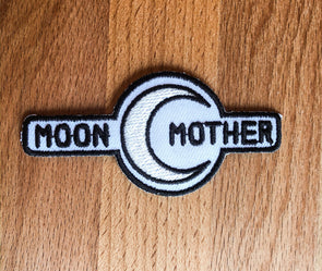 Moon Mother Embroidered Patch
