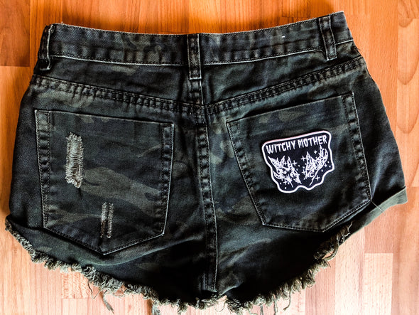 Witchy Mother Camo Shorts