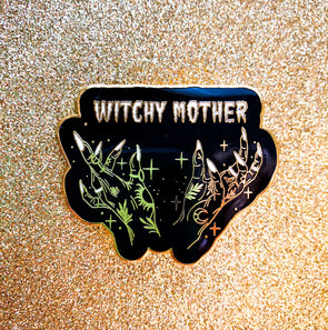Witchy Mother Enamel Pin