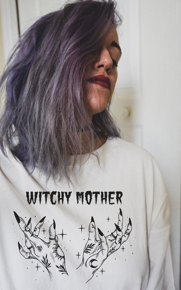 Witchy Mother - Unisex - White