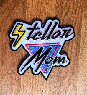 Stellar Mom Embroidered Patch