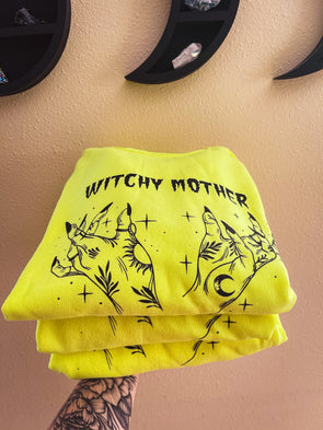Witchy Mother NEON Sweatshirt