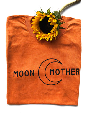 Moon Mother - Unisex - Burnt Orange