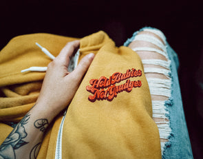 Hold Babies Not Grudges - Zip Hoodie