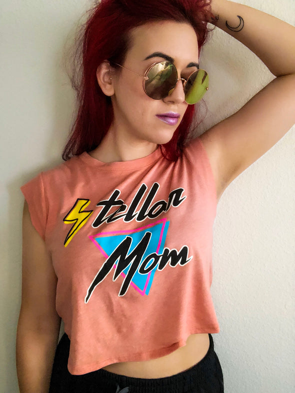 Stellar Mom - Women's Cropped Tank