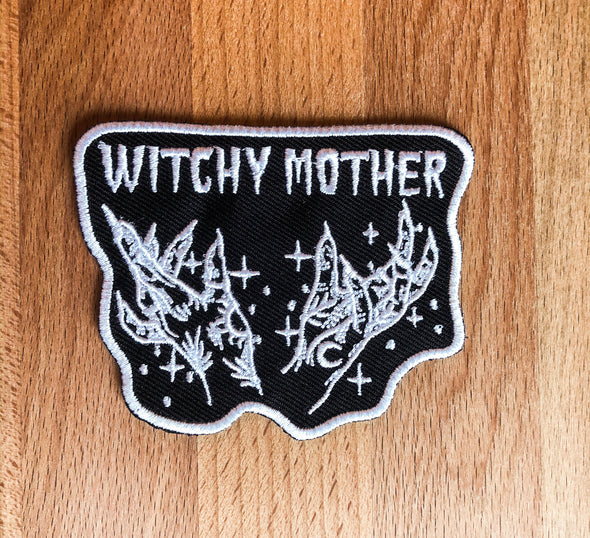 Witchy Mother Embroidered Patch