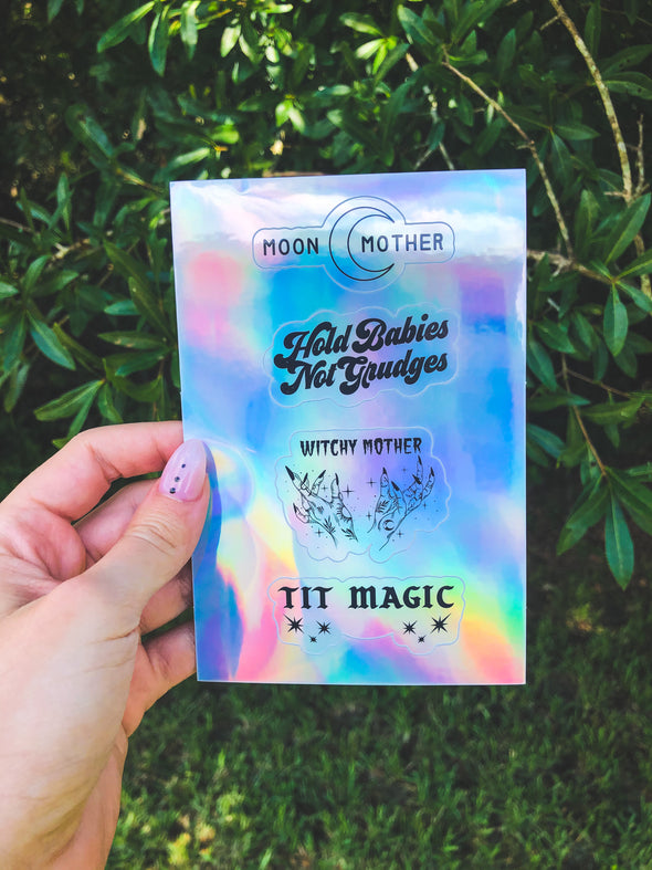 Holographic Sticker Sheet