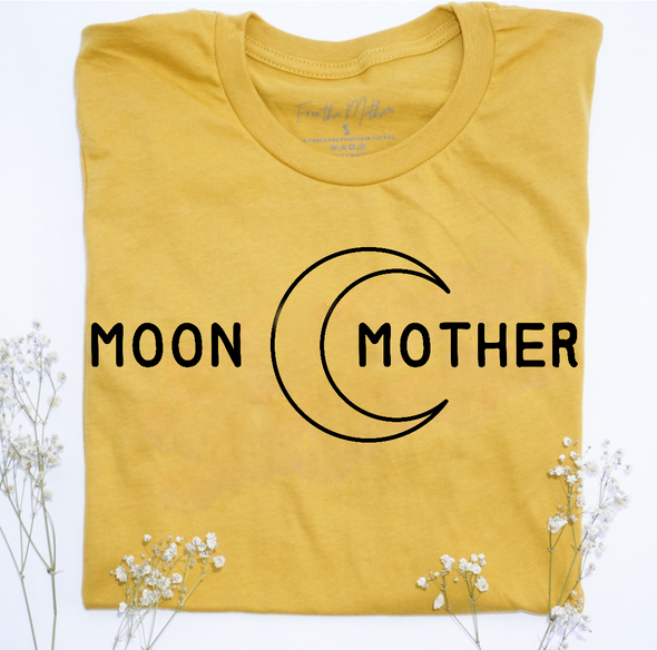 Moon Mother - Unisex - Mustard