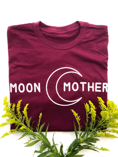 Moon Mother - Unisex - Maroon
