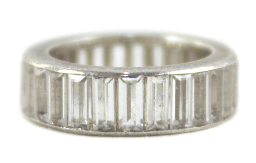 CLEAR CHANNEL SET RING
