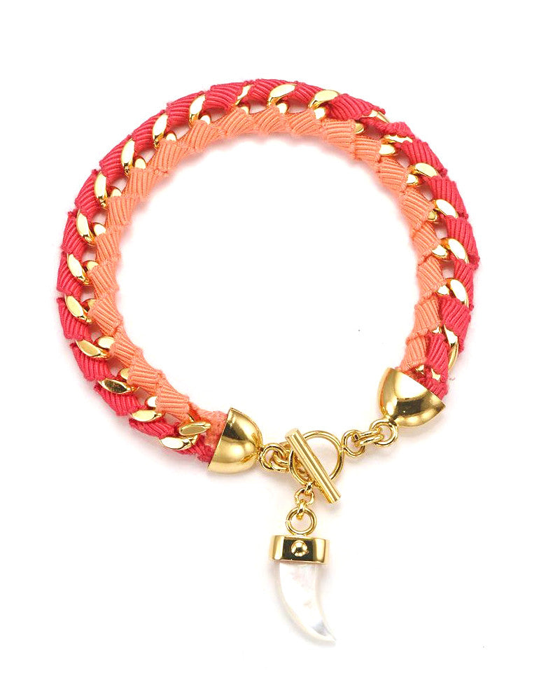 The Bali Girl Collection <br/> Indah Pink Bracelet