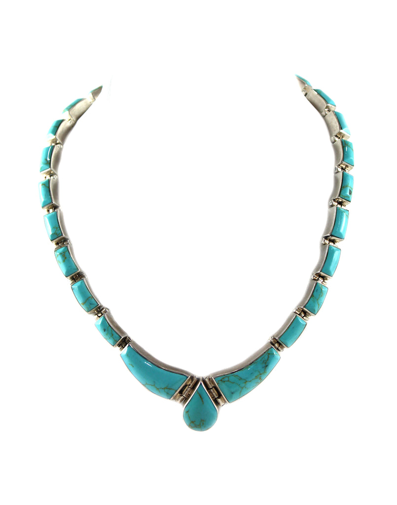 1950s Mexican Turquoise Necklace