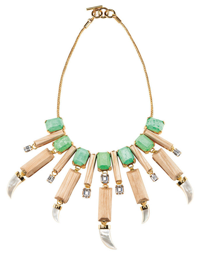 PARADISE COLLECTION <br/> EVERGLADES DEMI COLLAR NECKLACE