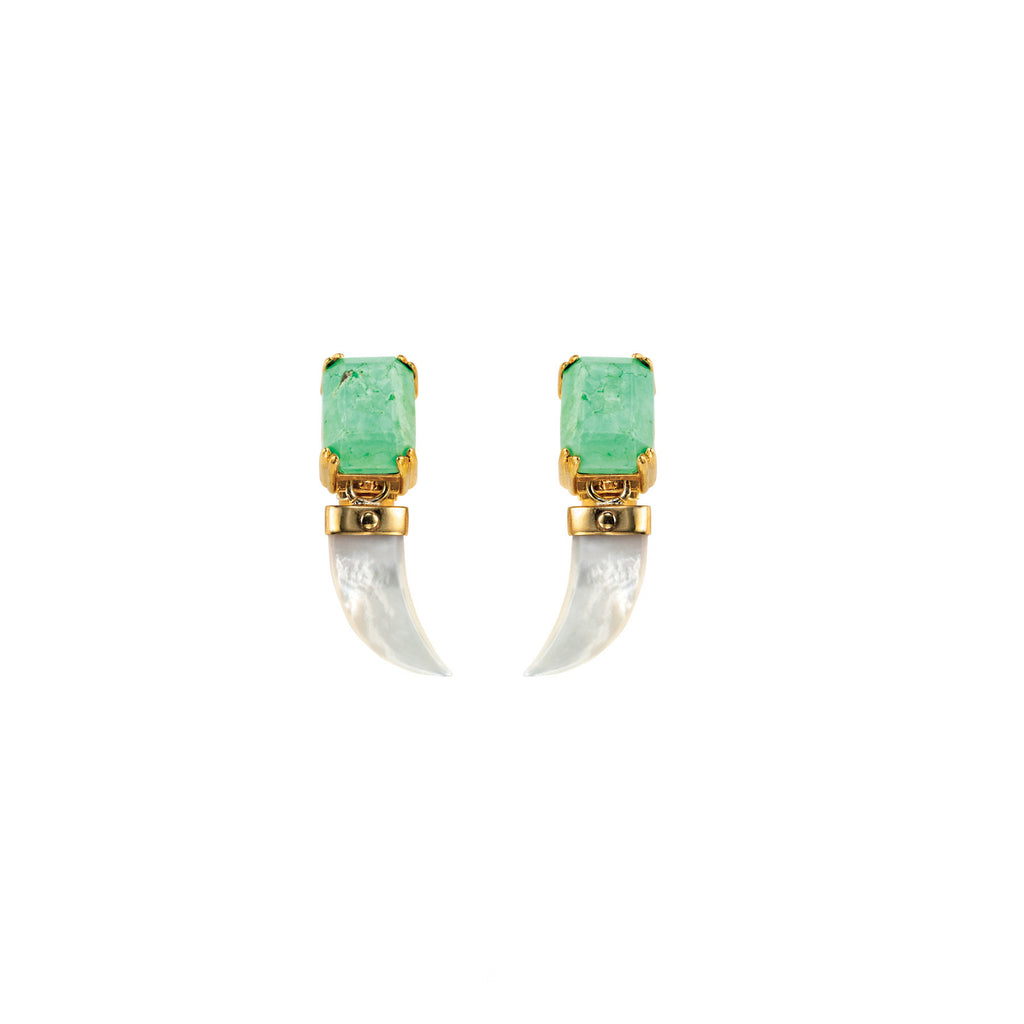 PARADISE COLLECTION <br/> EVERGLADES SMALL DROP EARRINGS