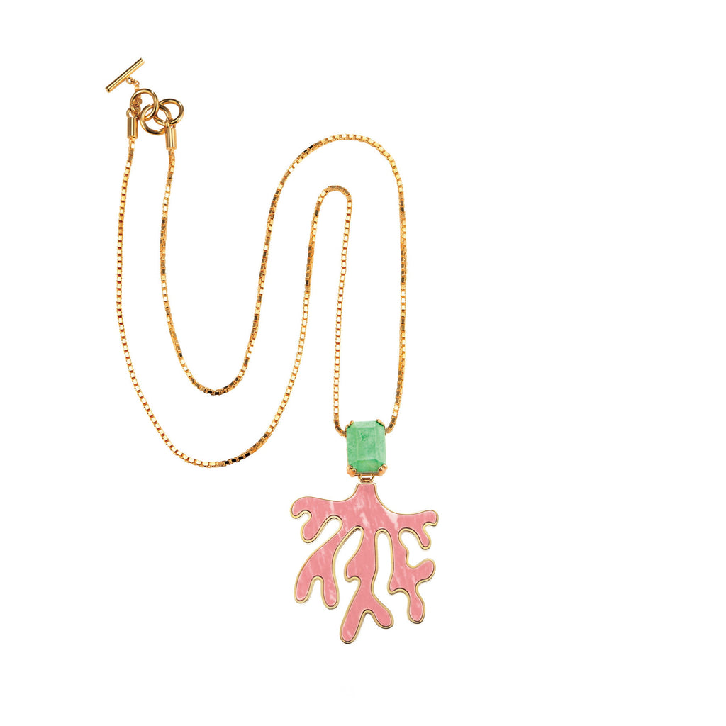 PARADISE COLLECTION<br/> EVERGLADES PENDANT NECKLACE