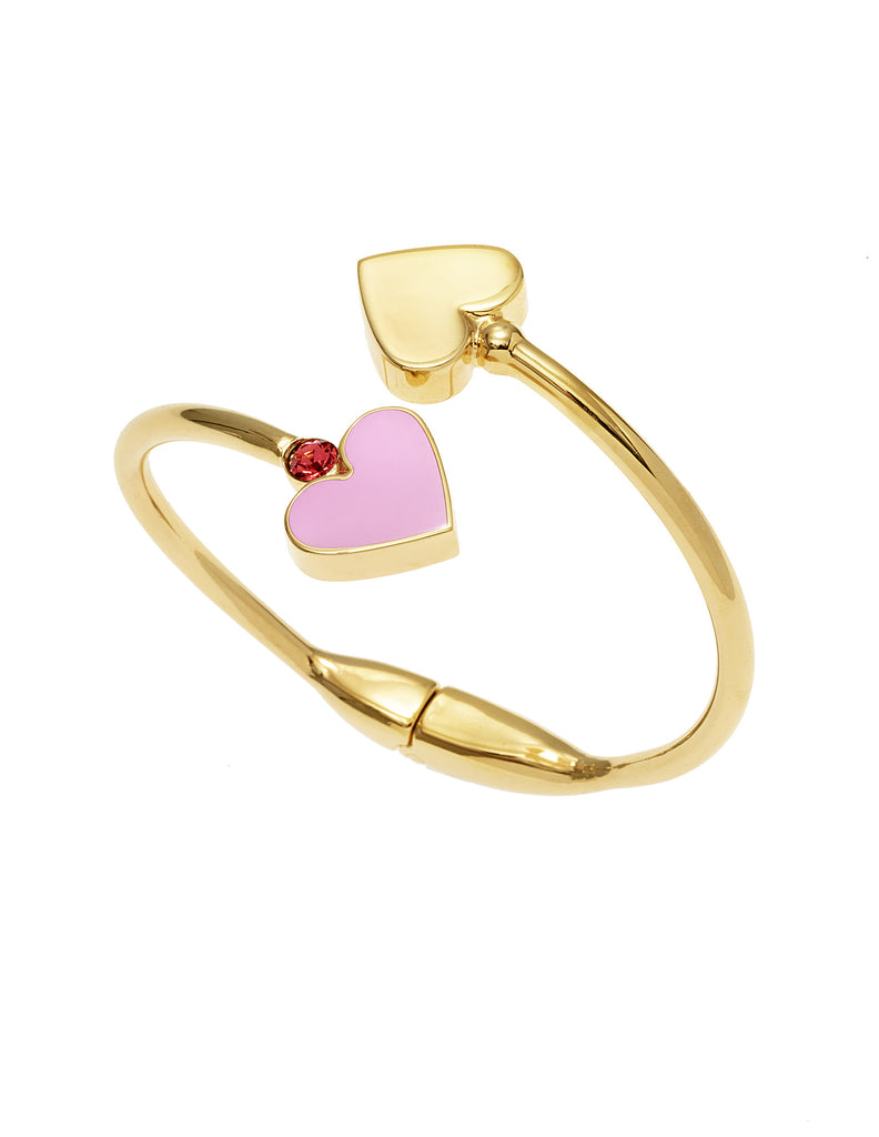 THE LURE OF THE SEA COLLECTION <br/> HEARTS BANGLE
