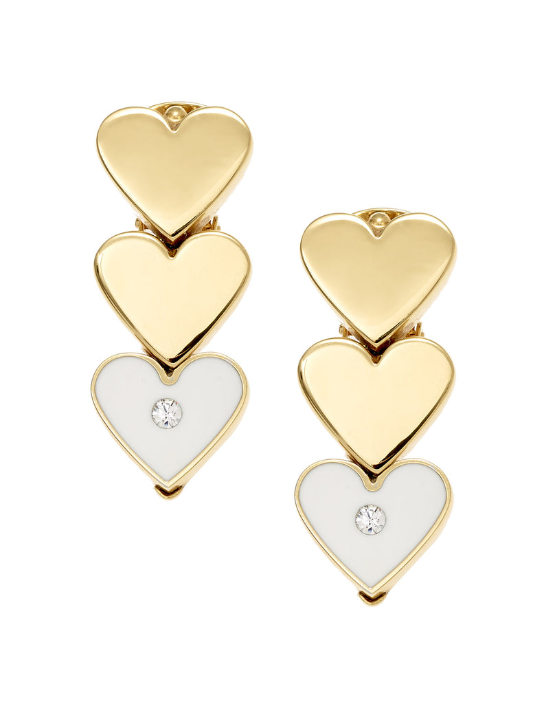 THE LURE OF THE SEA COLLECTION <br/> HEARTS EARRINGS
