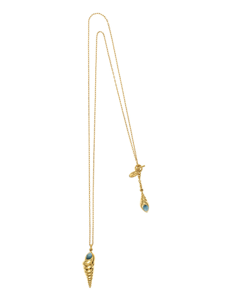 THE LURE OF THE SEA COLLECTION <br/> SHELLS DOUBLE PENDANT