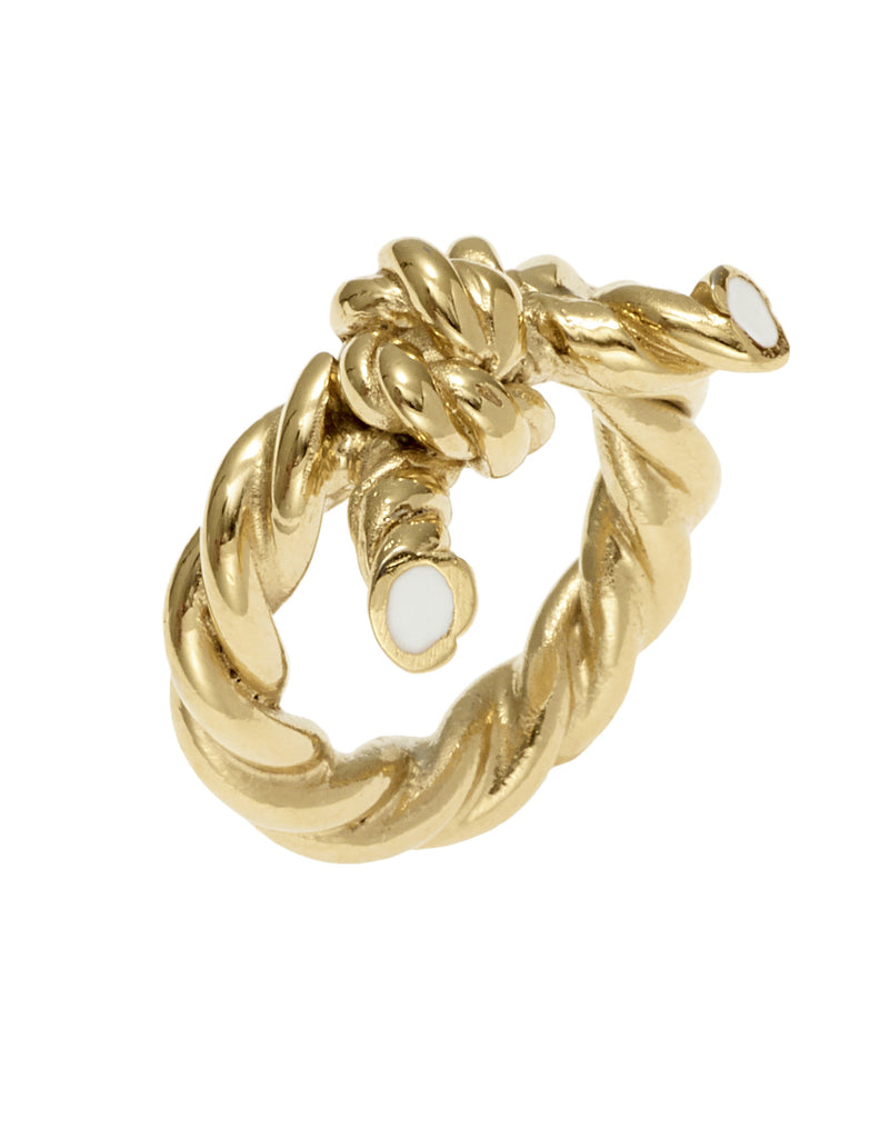 THE LURE OF THE SEA COLLECTION <br/> KNOT RING
