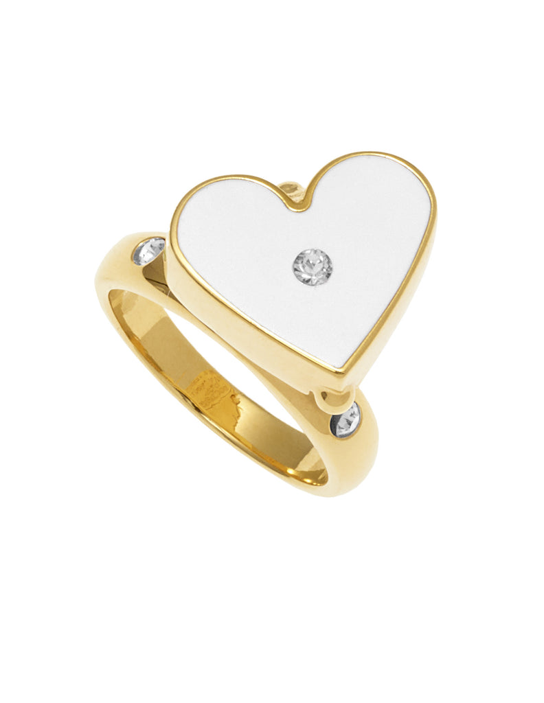 THE LURE OF THE SEA COLLECTION <br/> HEARTS RING