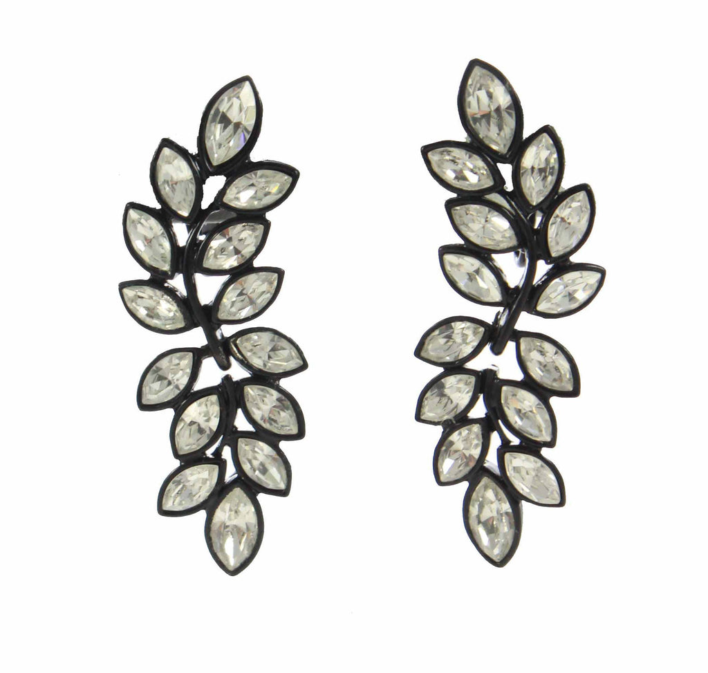 Kenneth Lane Leaf Earrings