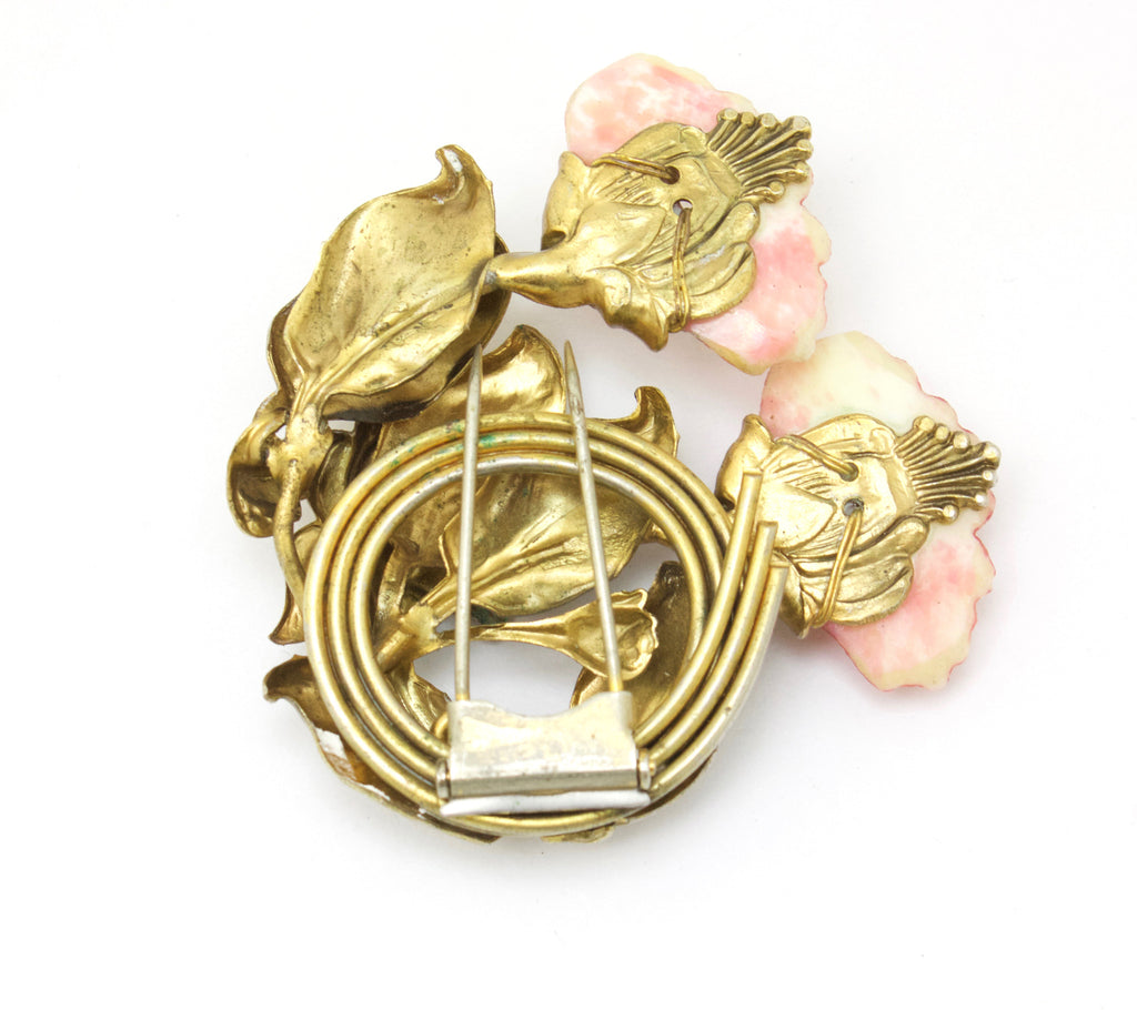 1920s Floral Pin