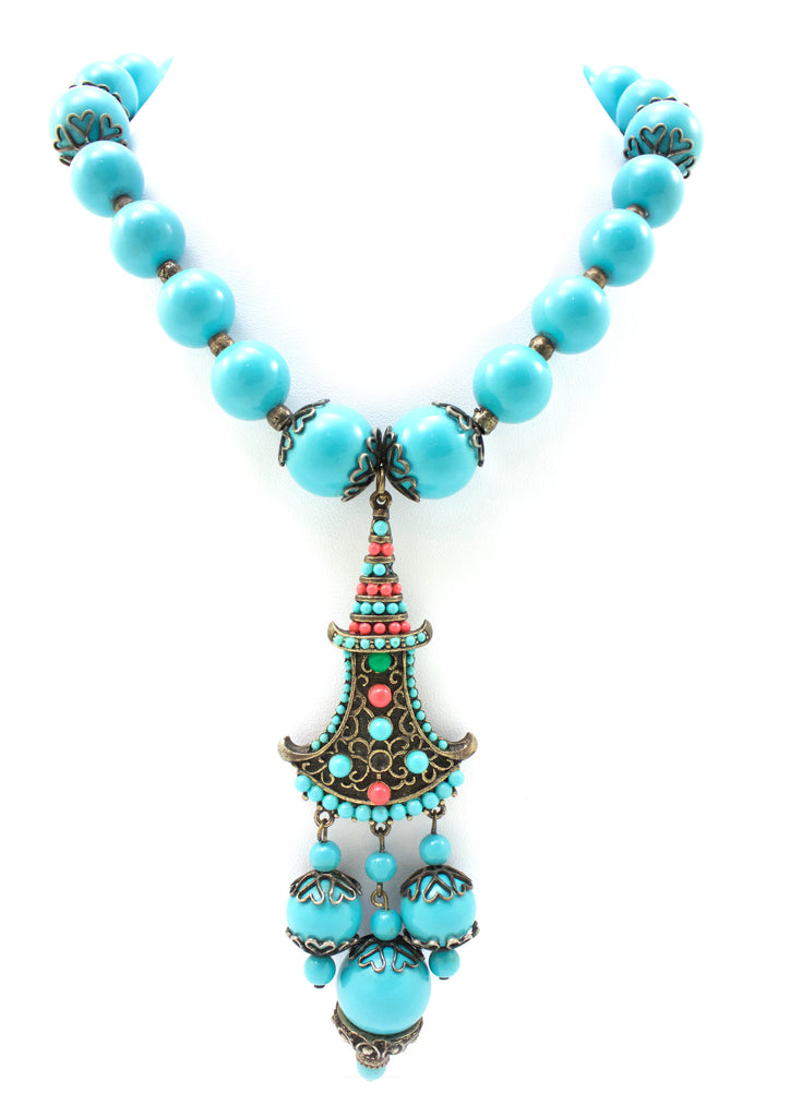Hobe Turquoise Necklace