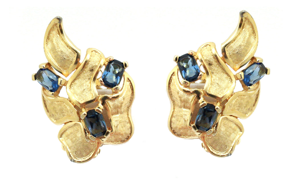 1950's Jomaz abstract earrings