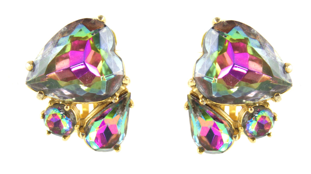 Schiaparelli heart earrings
