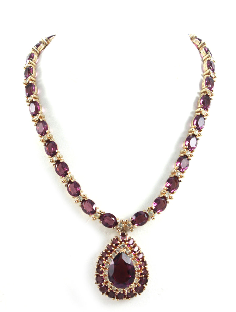 Panetta Amethyst Necklace