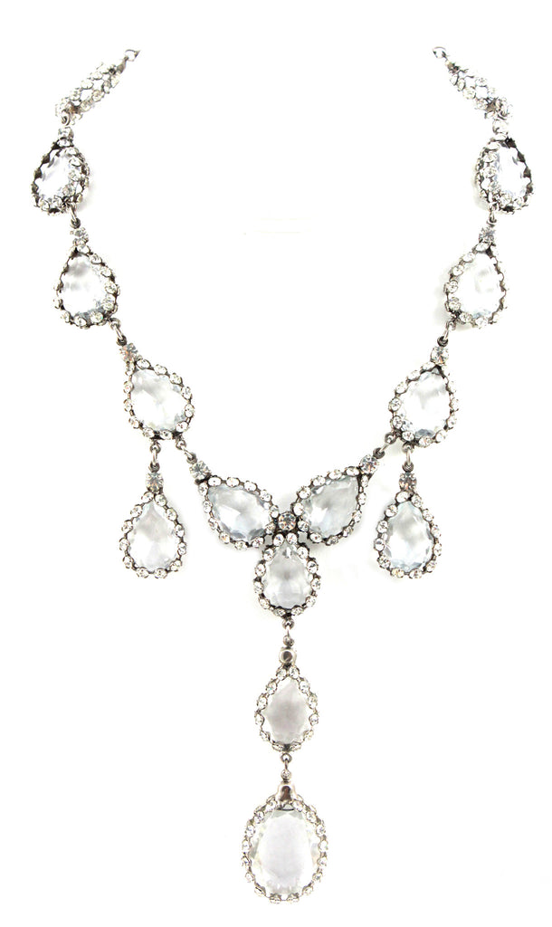 1950's Crystal Drop Necklace